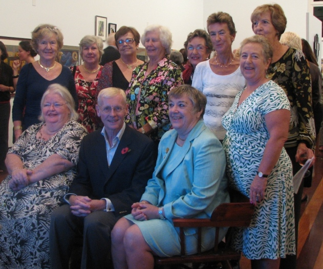 Past presidents of the Garden Club of Bermuda