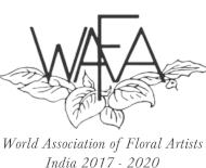 World Association of Floral Artists logo