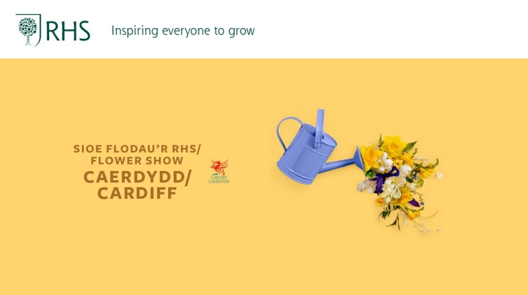 Royal Horticultural Society (RHS): Cardiff Flower Show - Wales April 17-19, 2020