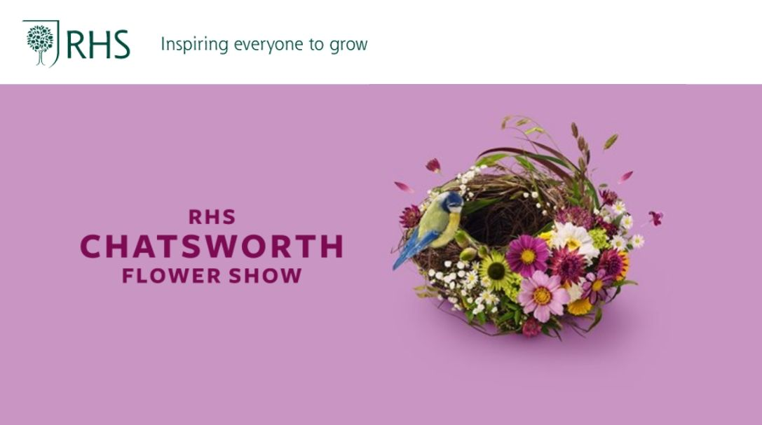 Royal Horticultural Society (RHS): Chatsworth Flower Show - Derbyshire June 11-14, 2020
