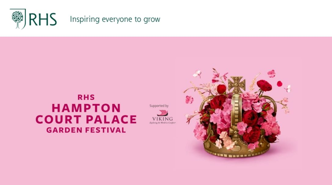 Royal Horticultural Society (RHS): Hampton Court Palace Garden Festival - Surrey July 7 - 12, 2020